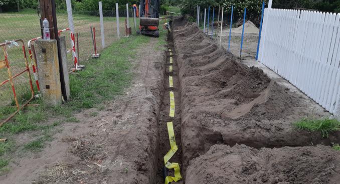 Szeged és környéke - Gázvezeték építés